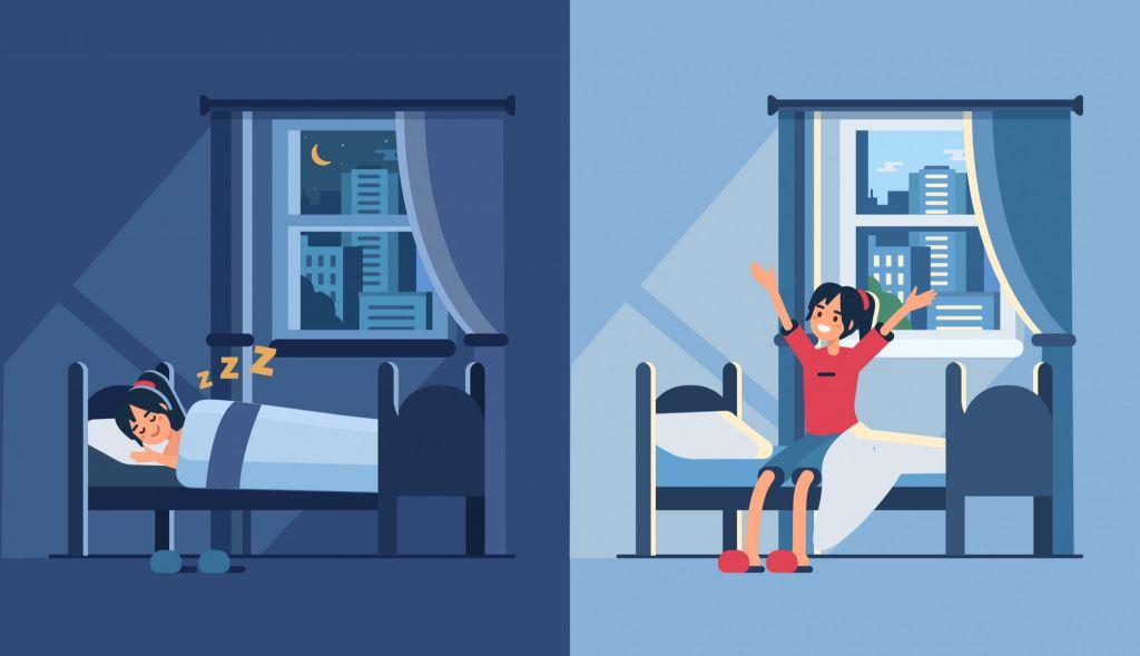 「7時間以上の睡眠は身体に良いが、6時間以下の睡眠は徹夜と変わらない」という衝撃の研究結果! | データのじかん